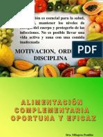 Alimentacion Complementaria Oportuna y Eficaz