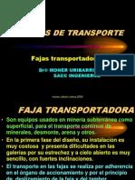 Equipos de Transporte Faja Transportadora
