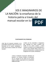 CONTENIDOS E IMAGINARIOS DE LA NACIÓN oscar q