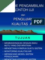 05. Pengambilan Contoh Dan Kualitas Air