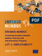 Erasmus Mundus Employability Survey Results