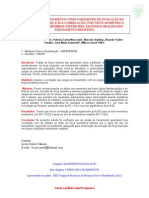 CARGAS DE TREINAMENTO COMO PARÂMETRO DE EVOLUÇÃO DA FORÇA MUSCULAR, E SUA CORRELAÇÃO COM TESTE ISOMÉTRICO MÁXIMO PARA MEMBROS SUPERIORES, EM IDOSOS REALIZANDO TREINAMENTO RESISTIDO - POSTER - XXII Congresso Brasileiro de Medicina Fisica e Reabilitação 2012. (Dr. Lucas Caseri Câmara