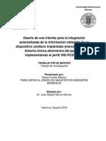 Integración automática de datos de un marca pasos a un sistema gestor de historia clínica electrónica. PDF