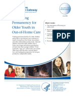 Enhancing Permanency for Older Youth in Out-Of-Home Care - 2006