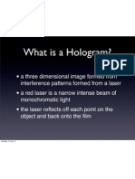 Holography Introduction