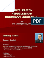 Penyelesaian Perselisihan Hubungan Industrial & Phk-1