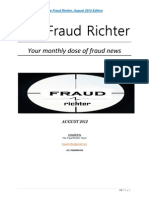 Fraud Richter August, 2012 edition