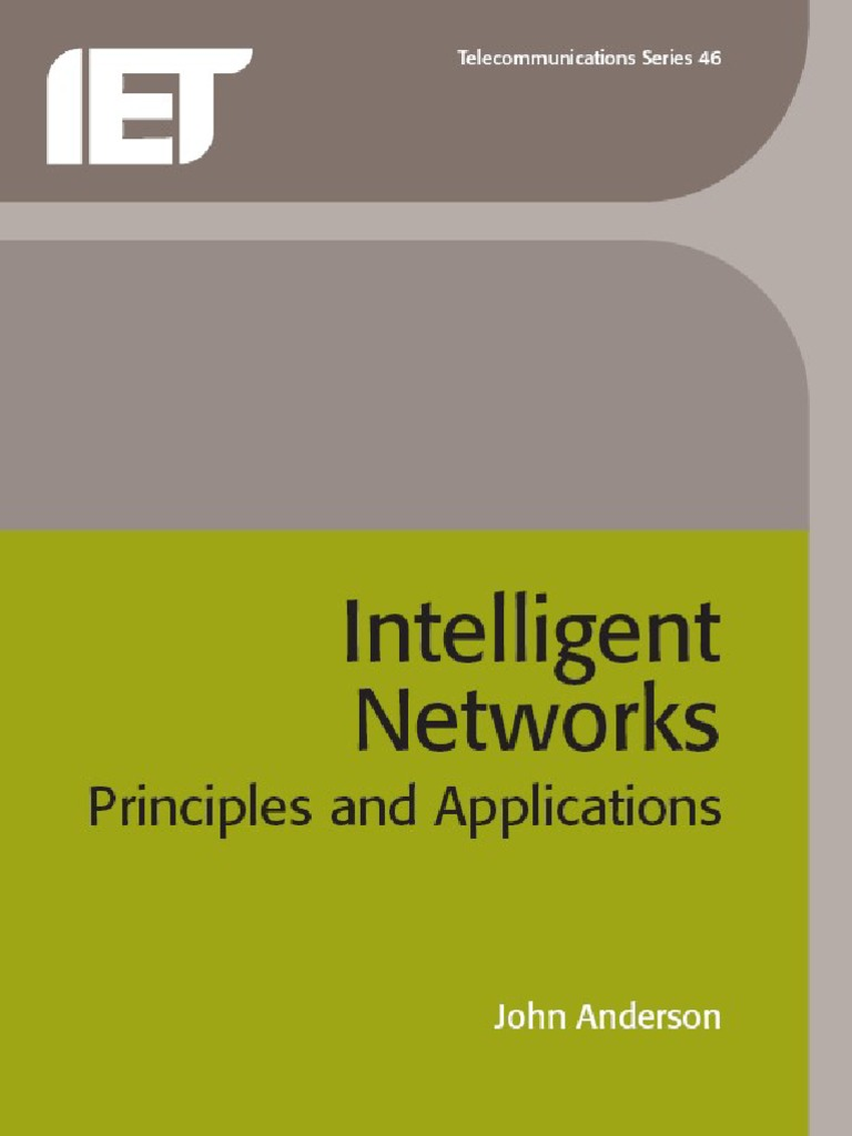Intelligent Networks Principles and Applications Computer