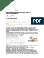 PPD e tuberculose