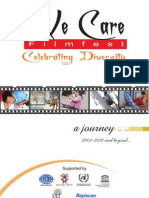 We Care 4 Pages Brochure 2012