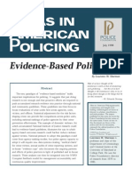 Sherman Evidence Based Policing