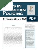 Sherman Evidence Based Policing