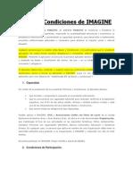 Bases y Condiciones Concurso ONGs (IMAGINE)