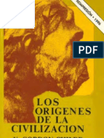 Childe, Gordon - Los Origenes de La Civilizacion