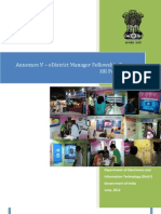 eDistrict Manager Annexure v-HR Policy Manual v3!1!30th May