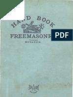 Handbook Freemasonry Edmond Ronayne 1917 298pgs SEC SOC.sml