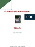 Facebook Marketing - Grillen Konkurrenzanalyse
