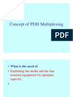 Concept of Pdh Multiplexing