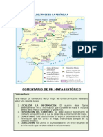 Yacimientos Paleolitico Peninsula Iberica