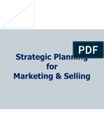 Strategy in Mktg and Selling