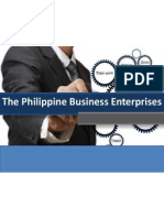 The Philippine Business Enterprise