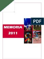 Memoria 2011 Def