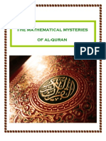The Mathematical Mysteries of Al Quran