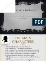 Sherlock Holmes, th blue diamond