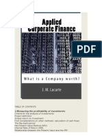 Applied Corporate Finance. What is a Company worth?