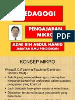 Kuliah 11 Pengajaran Mikro