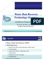 Waste Heat Recovery Technology Ovwr View