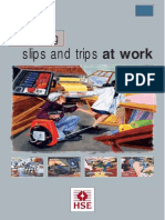 Preventing Slips and Trips at Work