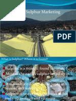 Sulphur Marketing