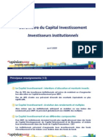 AFIC-OpinionWay Barometre Investisseurs Institututionnels 14-04-2009