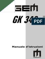 manuale gk 340