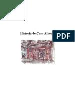 Historia Abreviada Casa Alberto