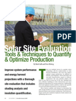 SolarPro Solar Site Evaluation