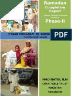 Completion Report Ramadan Iftaar Project 2012 Phase II