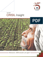 CRISIL Research Insight on Monsoon