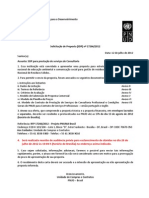 Edital 17266-2012 - PNUD - Resíduo Sólido