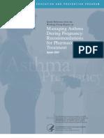 Asma in Pregnancy