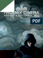 Phoenix Cinema Brochure - August & September 2012