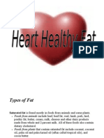 Heart Healthy Fat