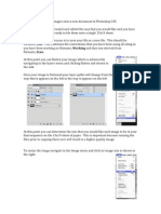 Tiling Images Onto a New Document in Photoshop CS5
