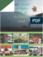 Diez claves de éxito para el desarrollo rural