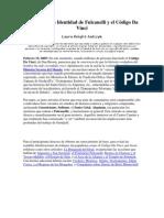 La Verdadera Identidad de Fulcanelli y el Código Da Vinci