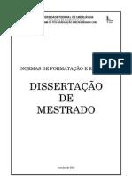 009_Normas de Formatacao e Redacao Da Dissertacao