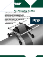 Hand Held Pipe Wrapping Machine - Cosmo Petra - Safe Lifting Solutions - Www.cpworks-eg.com