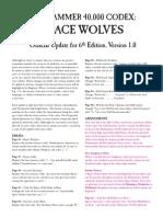 Space Wolves 6th Ed V1