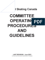 Committee Operating Procedures and Guidelines